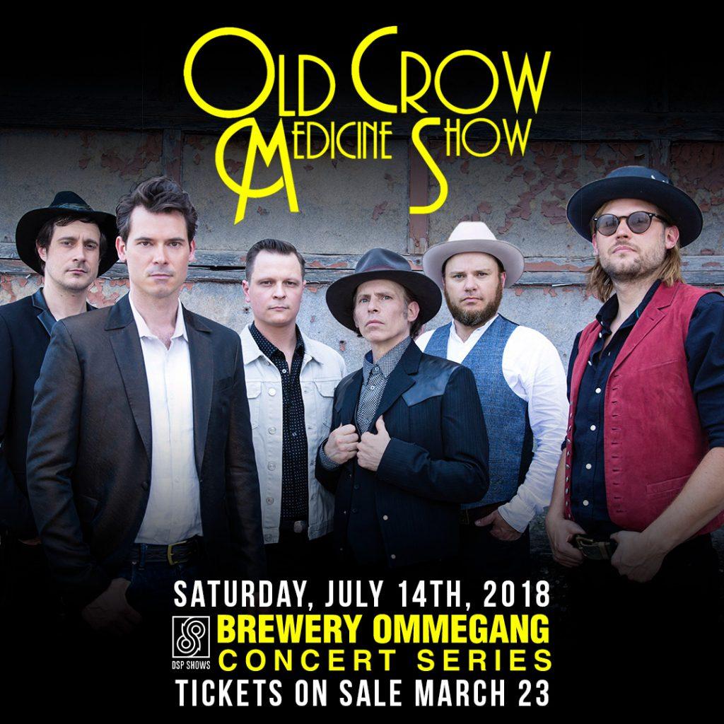 SCS 2018: Old Crow Medicine Show