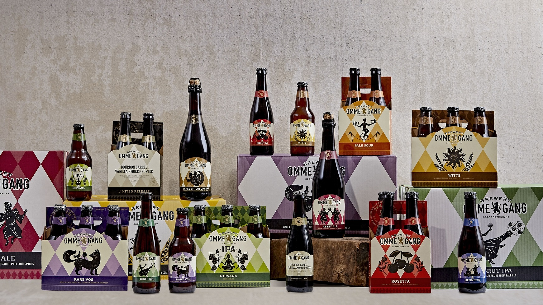 Brewery Ommegang <br> Debuts New Packaging