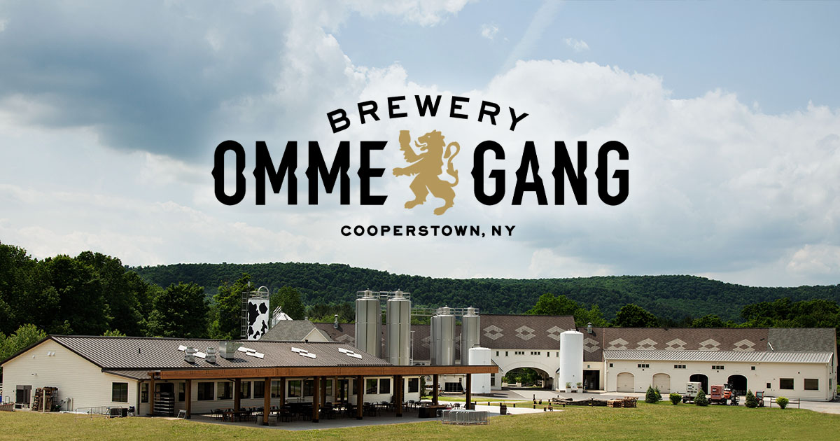 Brewery Ommegang – Where Heaven met earth     and stayed