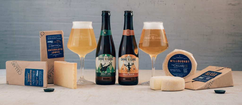 Brewery Ommegang and Jasper Hill Farms Cheese Pairing Guide