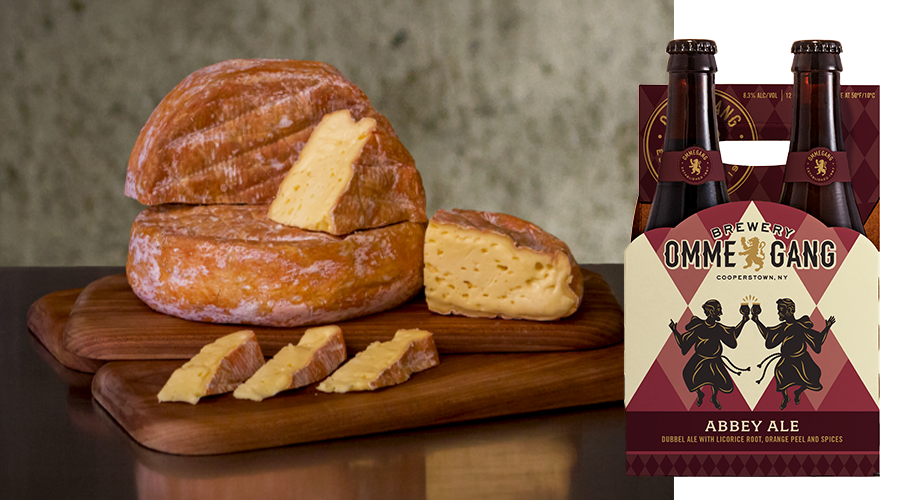 Ommegang Abbey Ale Cheese Pairing