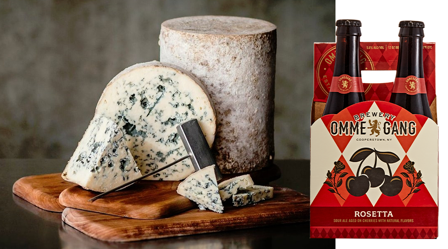 Brewery Ommegang Rosetta Cheese Pairing