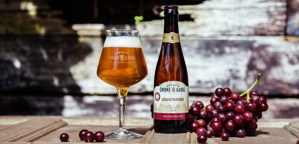 Brewery Ommegang introduces Saisonztraminer,  new co-fermentation release