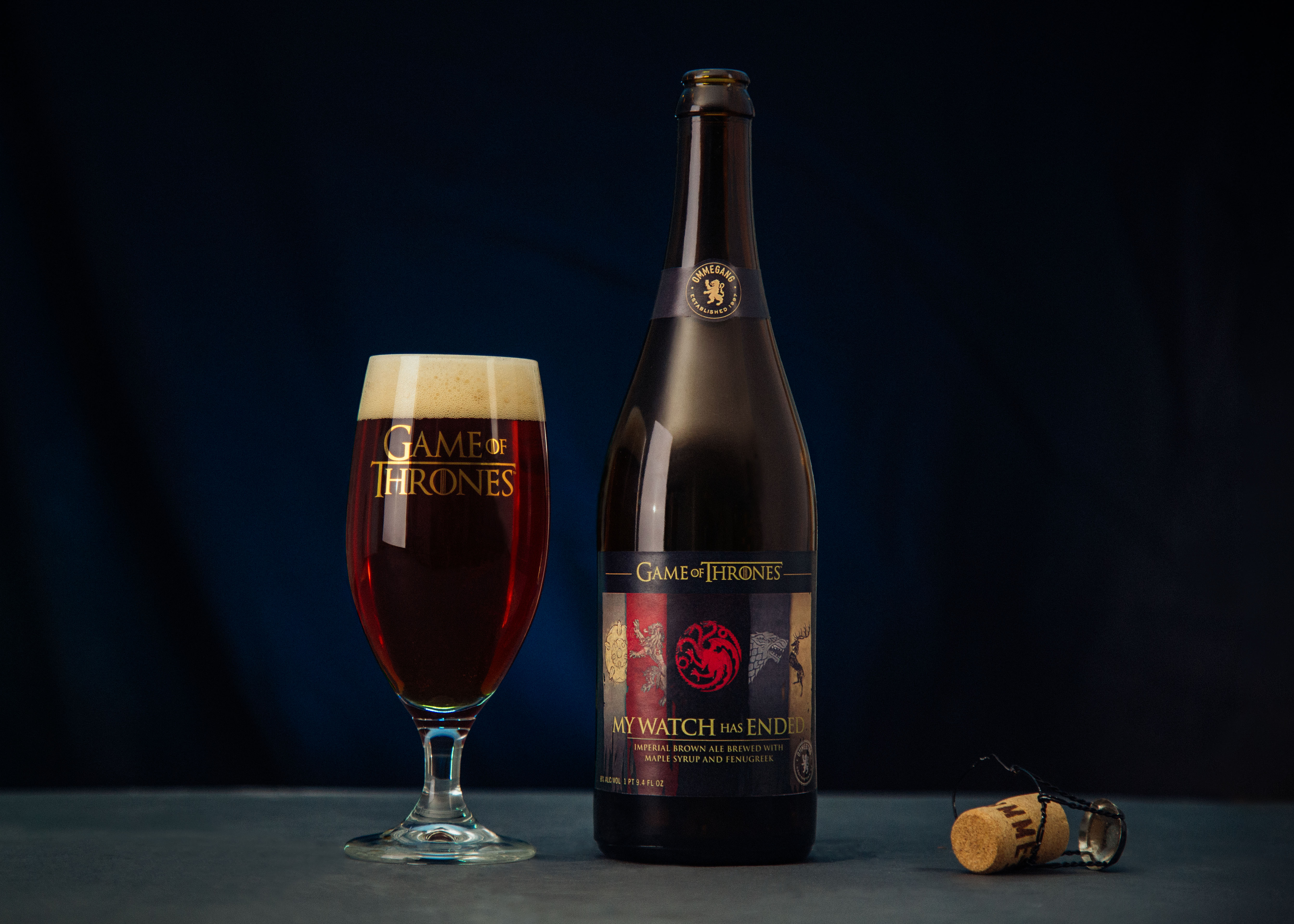 Brewery Ommegang and HBO announce My Watch Has Ended, a beer to celebrate the end of Game of Thrones
