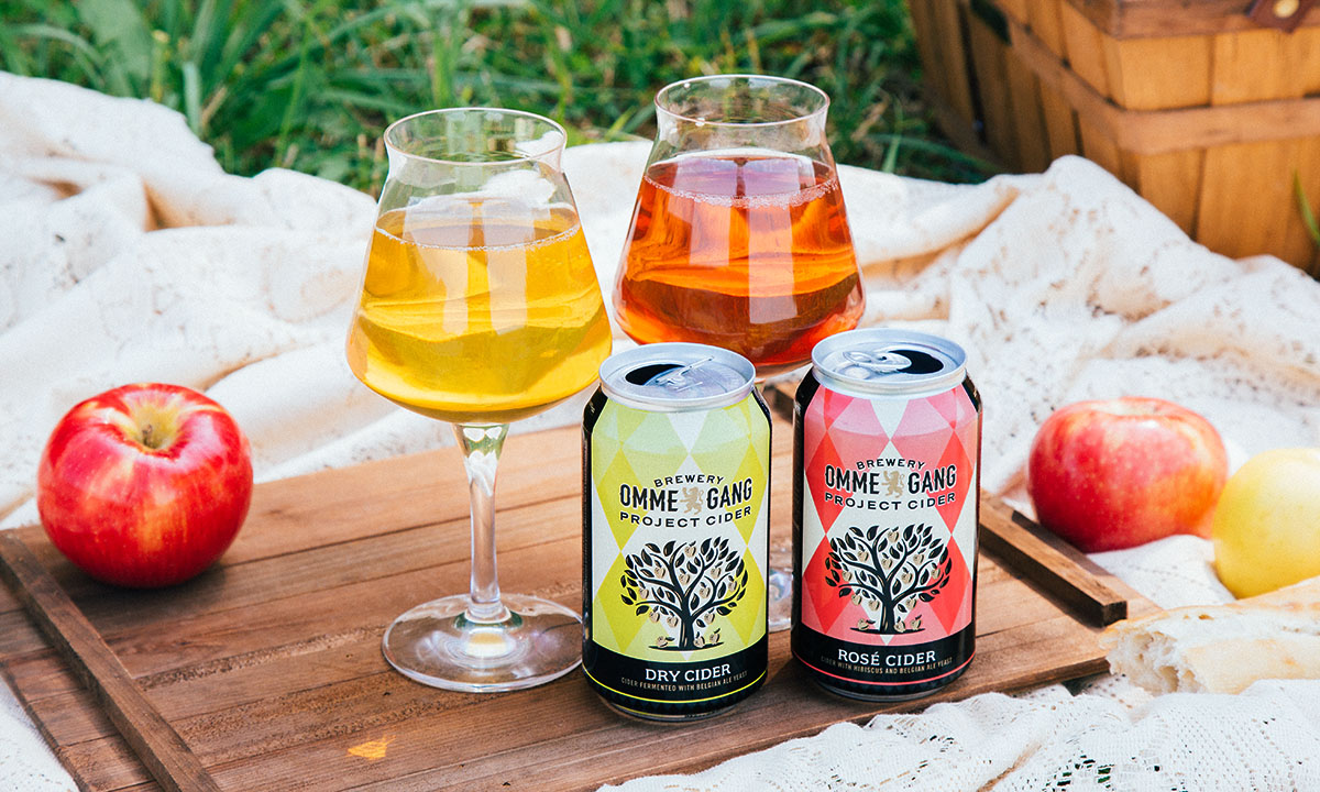 Brewery Ommegang Launches Project Cider, Dry and Rosé are first up