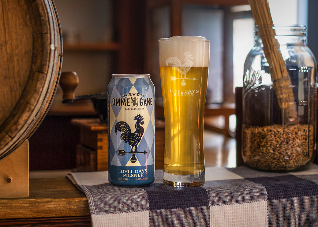 Brewery Ommegang Launches Idyll Days Pilsner; New year-round offering arrives in March